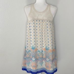 Blu Pepper Paisley Dress Size Medium